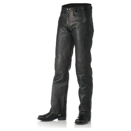 Leather Bullet Jeans