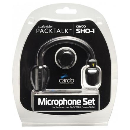 Cardo Systems Microfoon (set) Hybrid + Corded SHO-1/Packtalk/Smartpack/SmartH/Fr