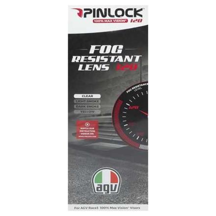 Agv Max Pinlock Lens 120 Pista Gp Rr/pista Gp R/corsa R